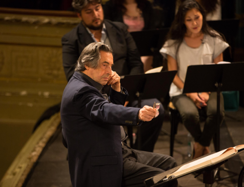 Riccardo Muti Italian Opera Academy 2017 – Aida