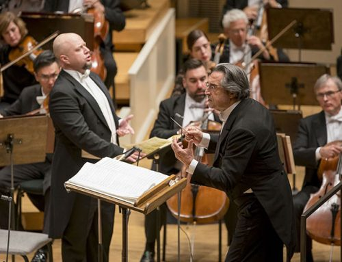 "Muti and the ""Requiem"": great emotions in Chicago"
