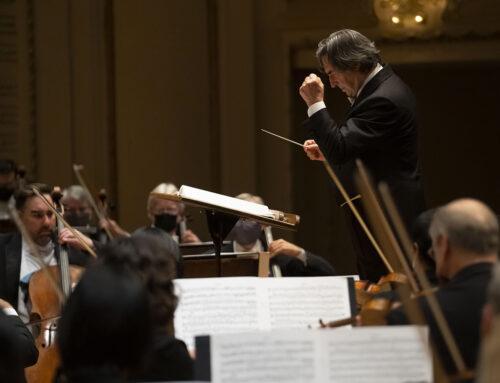 Riccardo Muti e la Chicago Symphony Orchestra aprono la nuova stagione di concerti