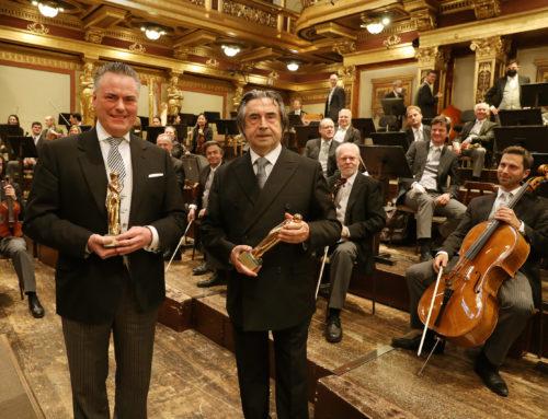 Riccardo Muti e i Wiener Philharmoniker ricevono il premio ROMY 2021