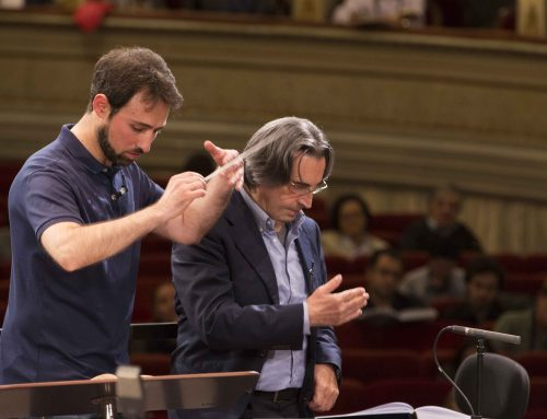 "Muti teaches the ""Made in Italy"" of music"