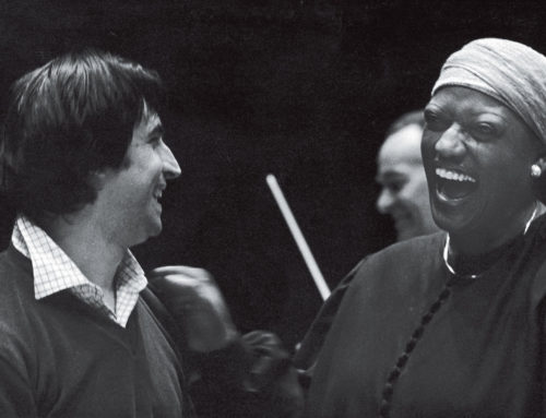 Riccardo Muti and Jessye Norman