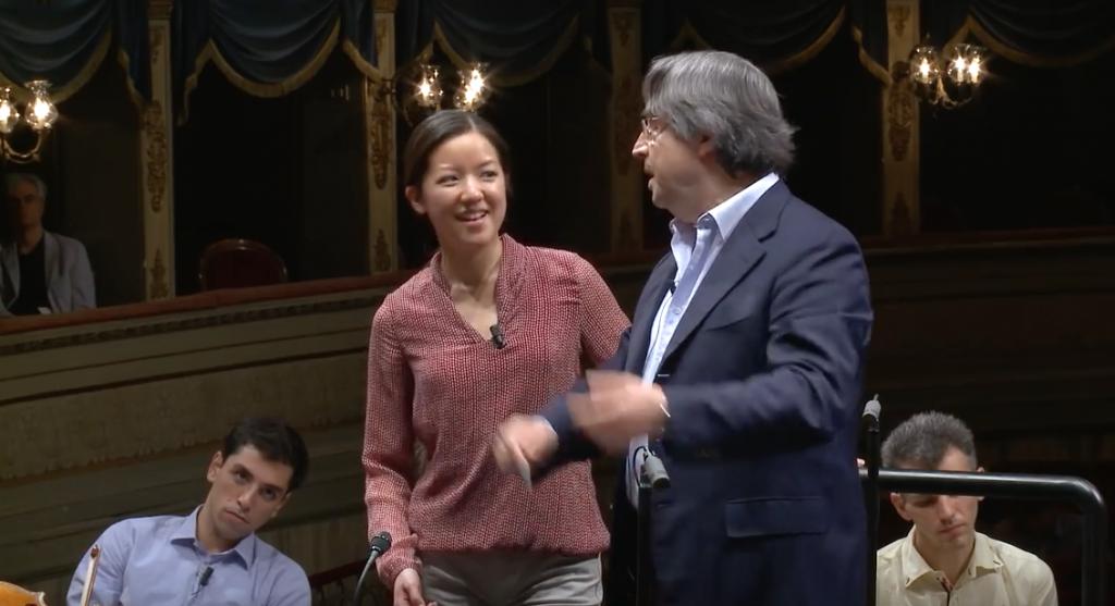 Prolungata di un anno l'opportunità per Erina Yashima di essere assistente direttore di Riccardo Muti a Chicago