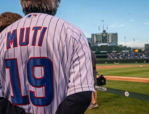 First Pitch Chicago Cubs – September, 17 2019