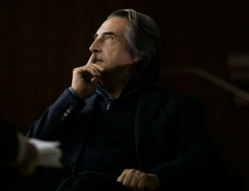Riccardo Muti: no bulletins. I study Beethoven and wear sporty clothes.
