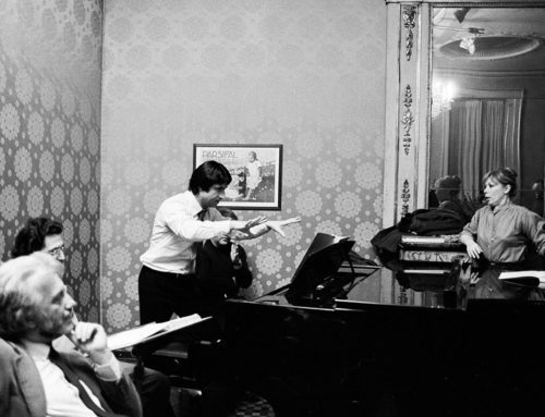 Riccardo Muti in memory of Mirella Freni