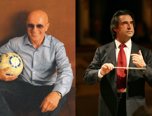 The night of the Maestros: the podium and the bleacher, an unprecedented dialogue between Riccardo Muti and Arrigo Sacchi