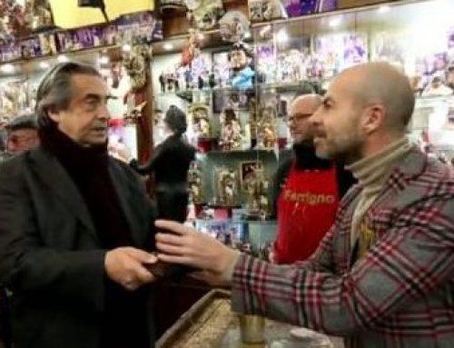 Il maestro Muti sul presepe: l'omaggio di Ferrigno a San Gregorio Armeno